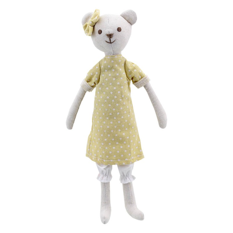 Bear - Girl - Wilberry Linen