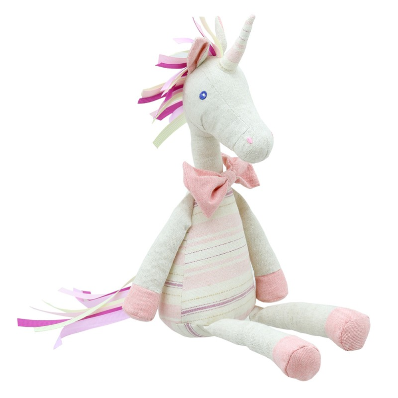 Unicorn - Pink - Wilberry Linen