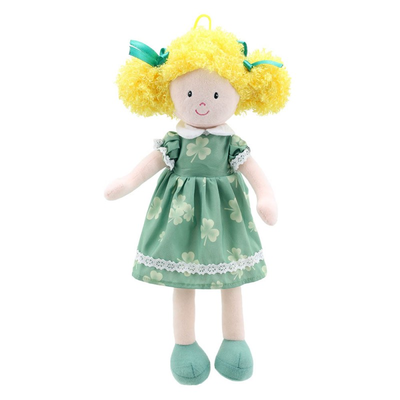 Doll (Green Dress) - Wilberry Dolls